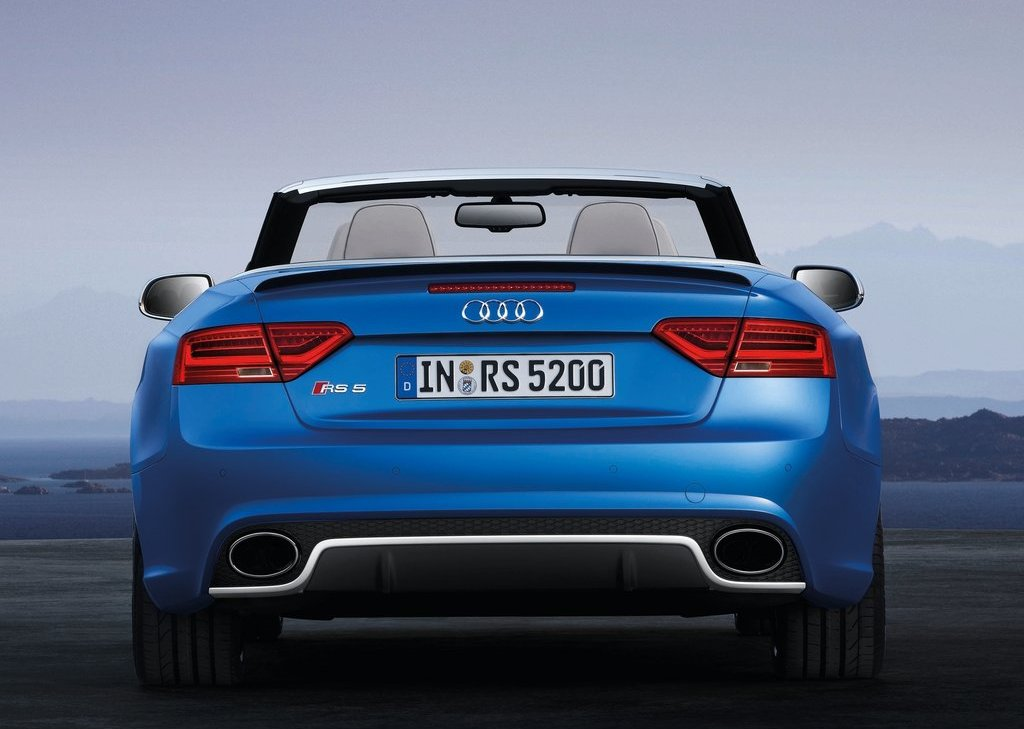 2014 Audi RS5 Cabriolet Rear (Photo 6 of 9)