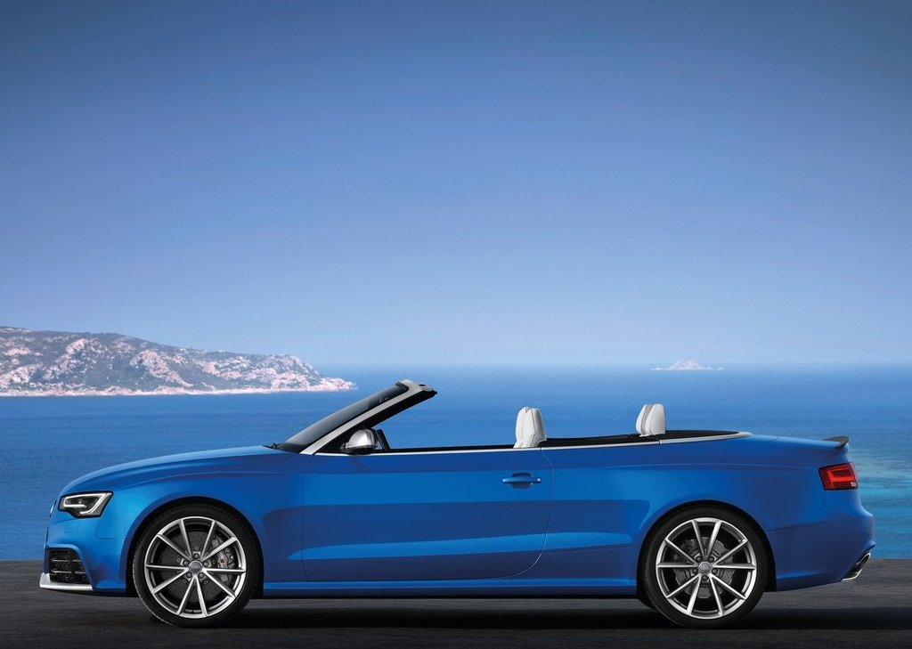 2014 Audi RS5 Cabriolet Side (Photo 9 of 9)