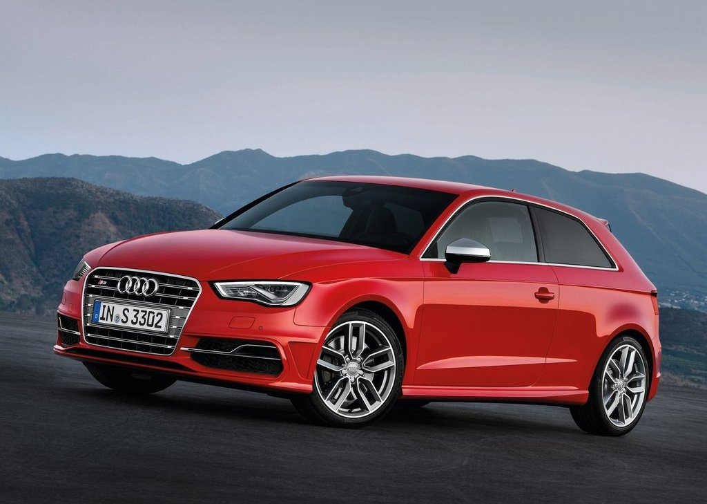 2014 Audi S3 Front Angle (Photo 6 of 11)