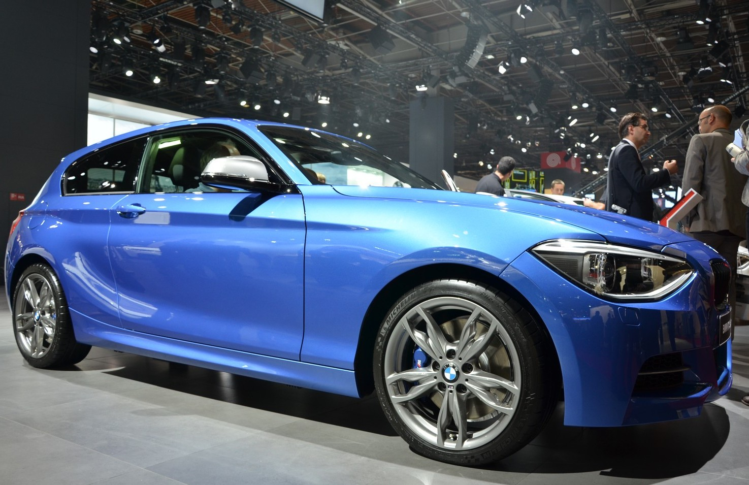 BMW M135i XDrive At Paris (View 2 of 7)