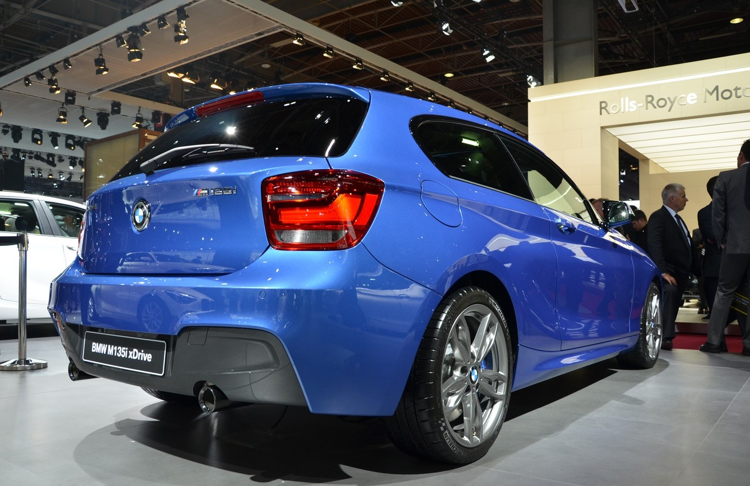 BMW M135i XDrive Rear (View 6 of 7)