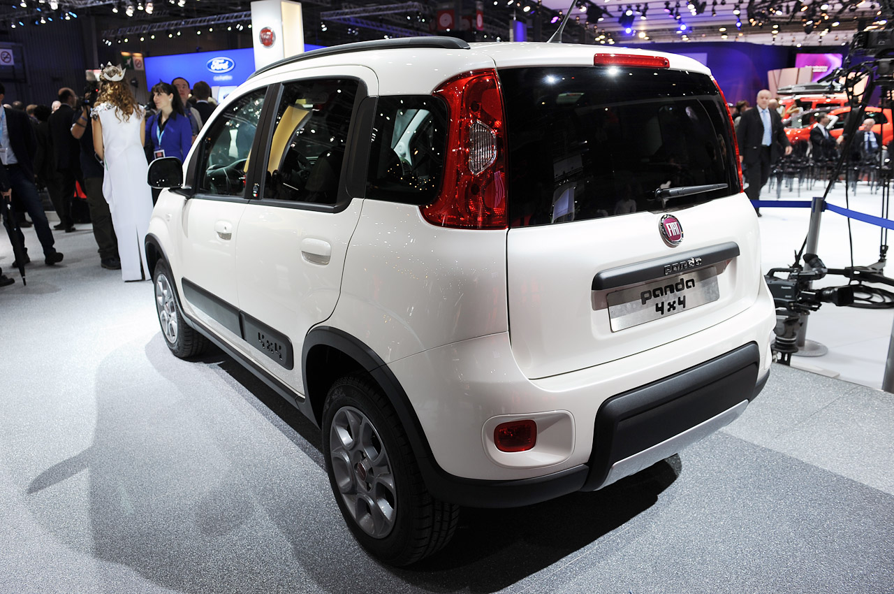 Fiat Panda 4×4 Rear (Photo 4 of 4)