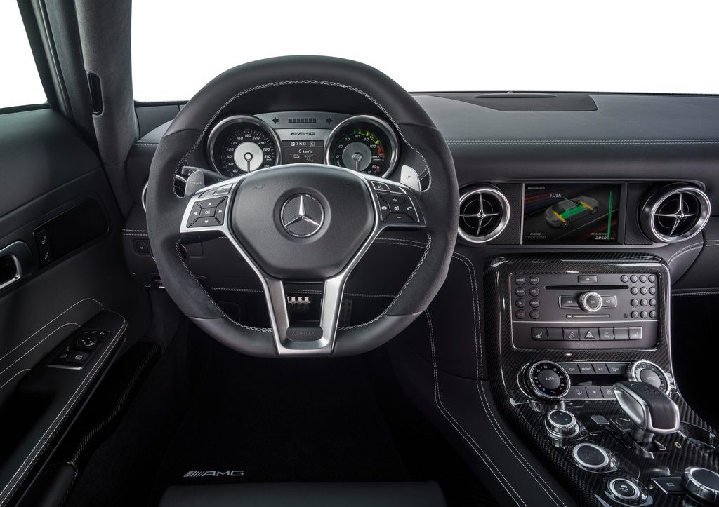 Mercedes SLS AMG Coupe Electric Drive Interior (View 4 of 8)