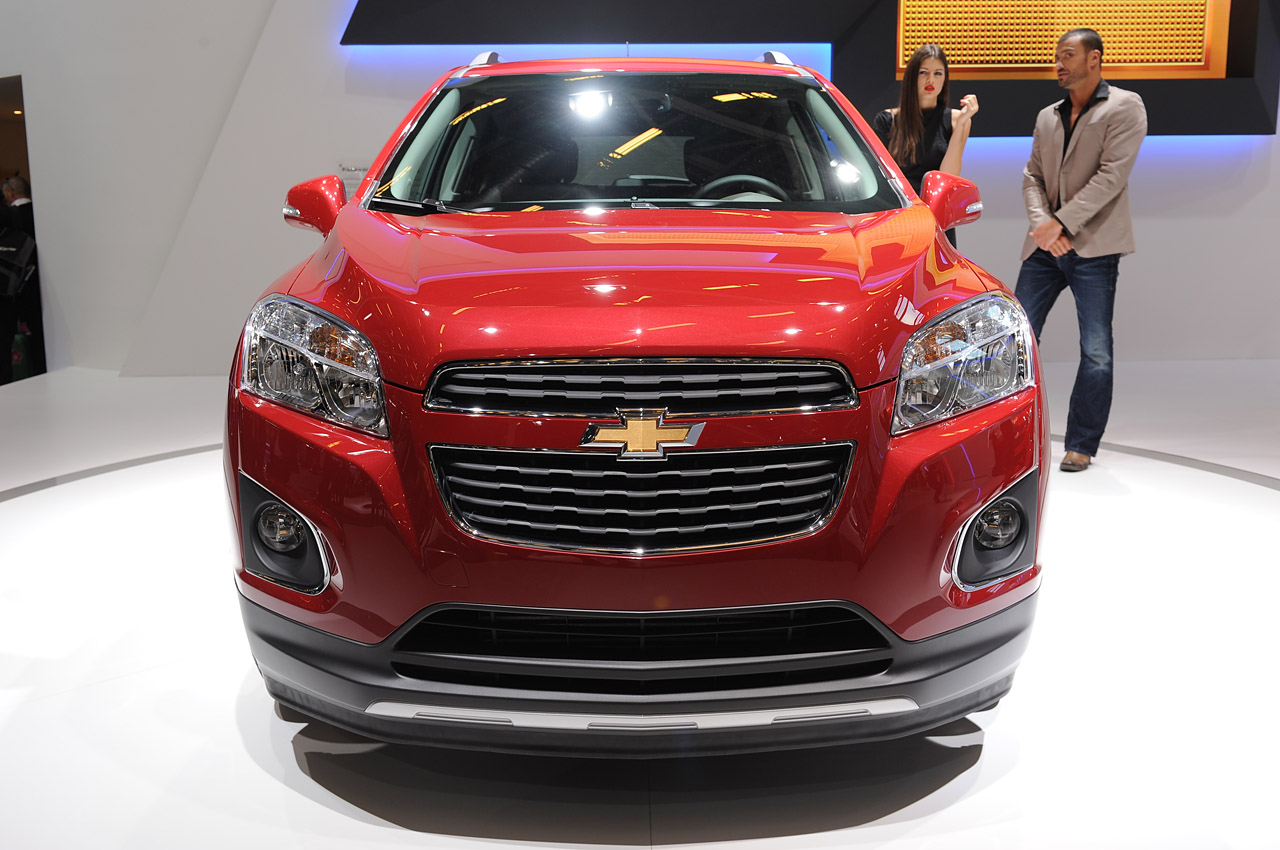 2013 Chevrolet Trax At 2012 Paris (Photo 2 of 4)