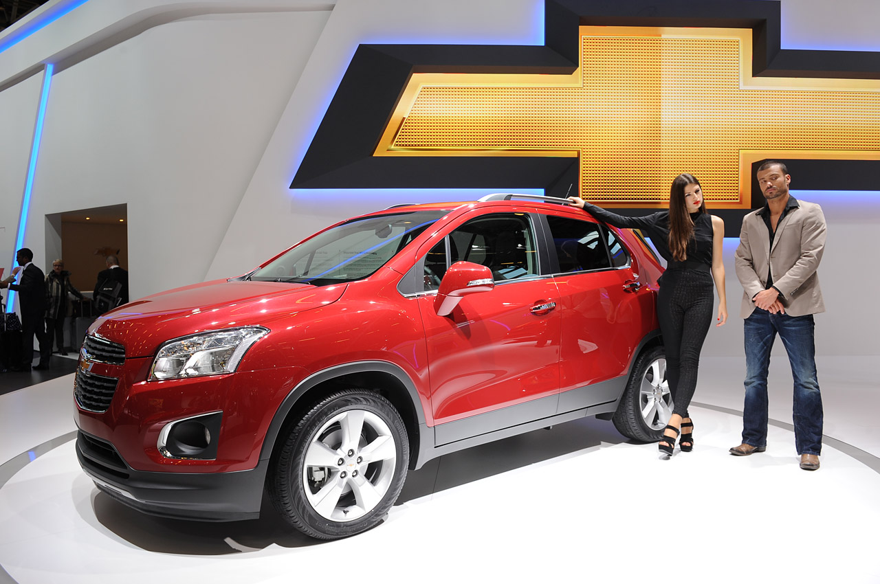 Featured Image of 2013 Chevrolet Trax At 2012 Paris