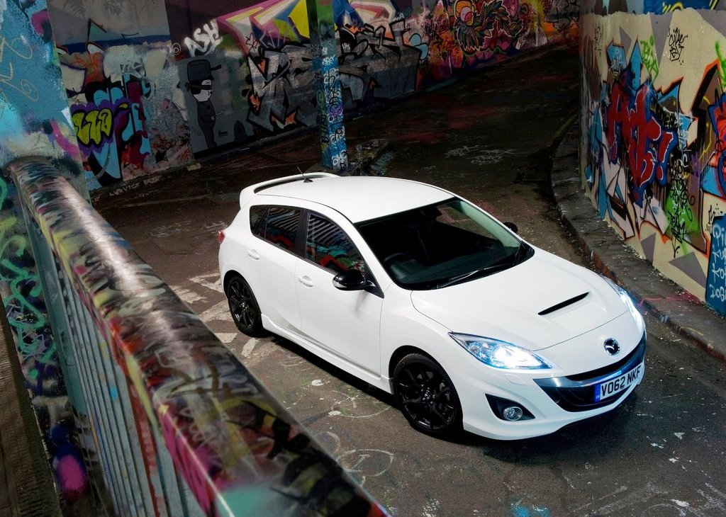 2013 Mazda 3 MPS White (Photo 6 of 6)