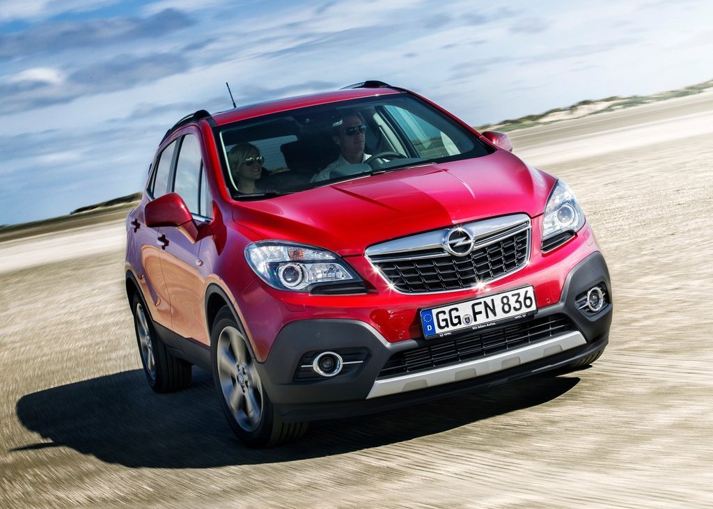 2013 Opel Mokka Front View (View 2 of 5)
