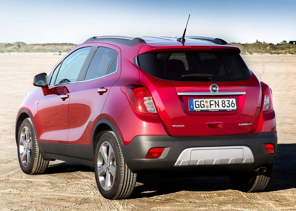 2013 Opel Mokka Rear View (View 4 of 5)