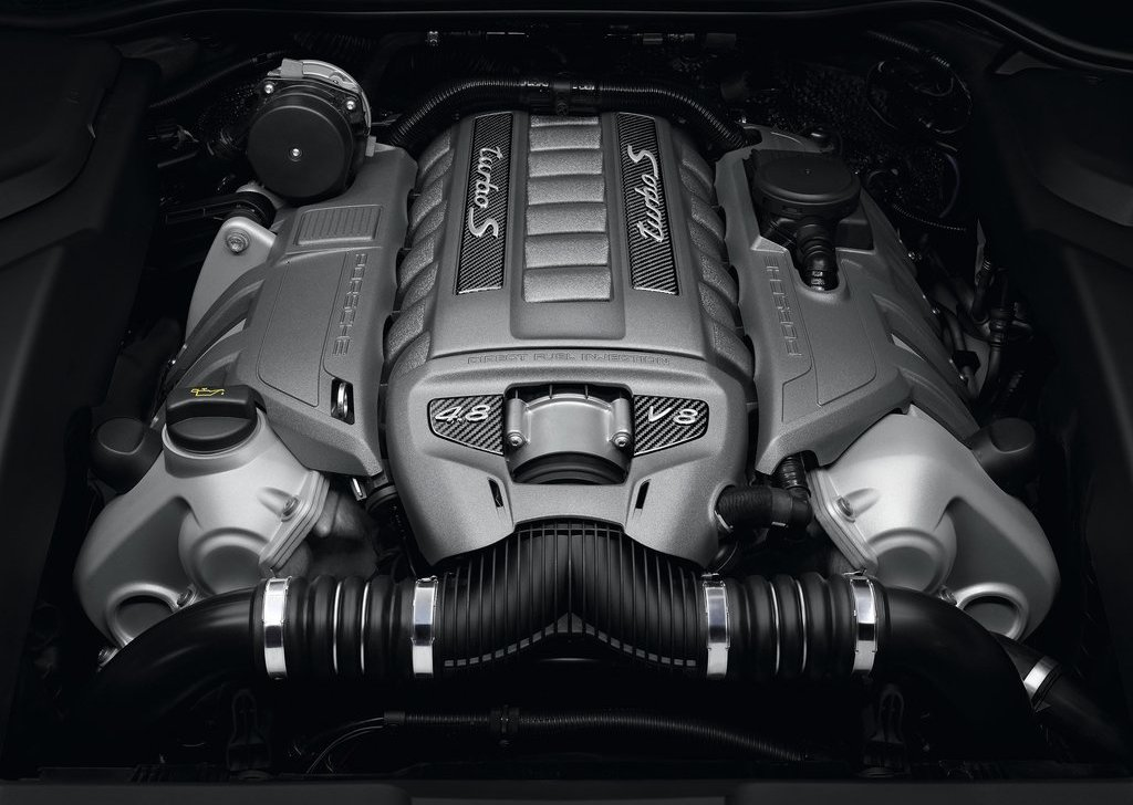 2013 Porsche Cayenne Turbo S Engine (Photo 2 of 5)