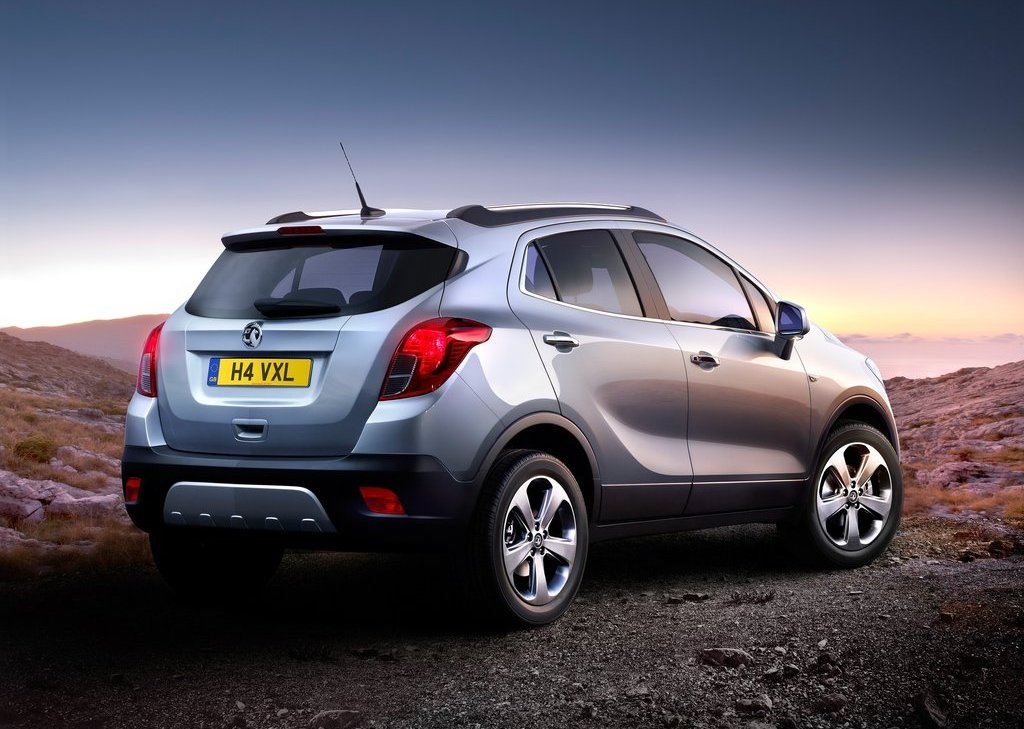 2013 Vauxhall Mokka Rear Angle (View 4 of 6)