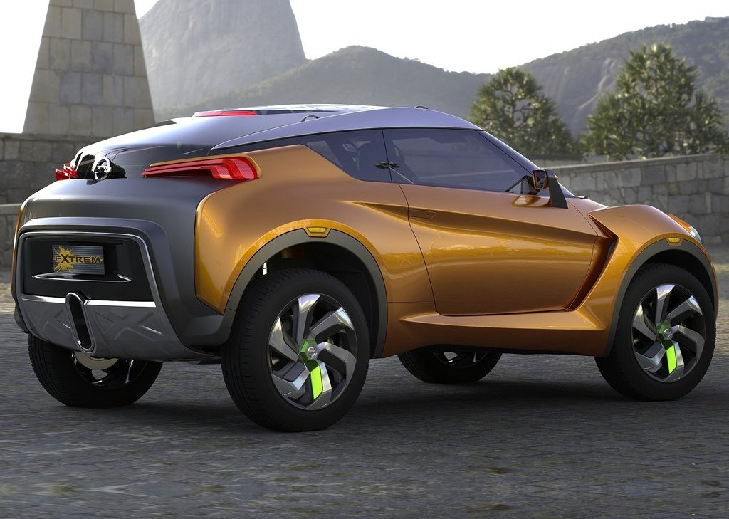2012 Nissan Extrem Concept Side (Photo 4 of 5)