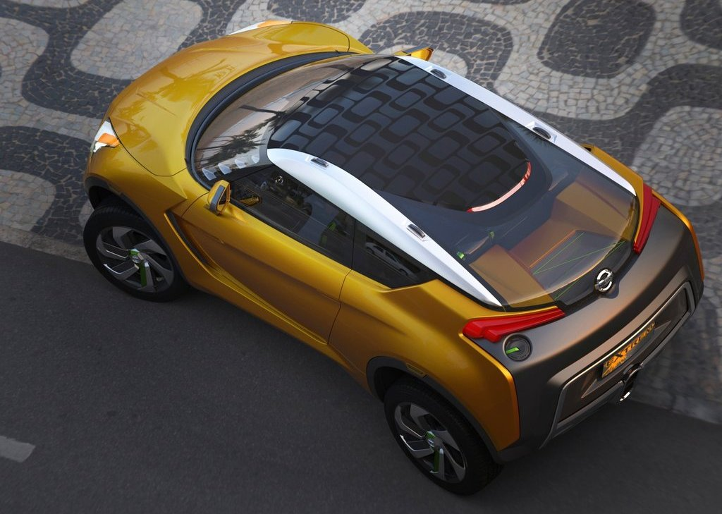 2012 Nissan Extrem Concept Top View (Photo 5 of 5)