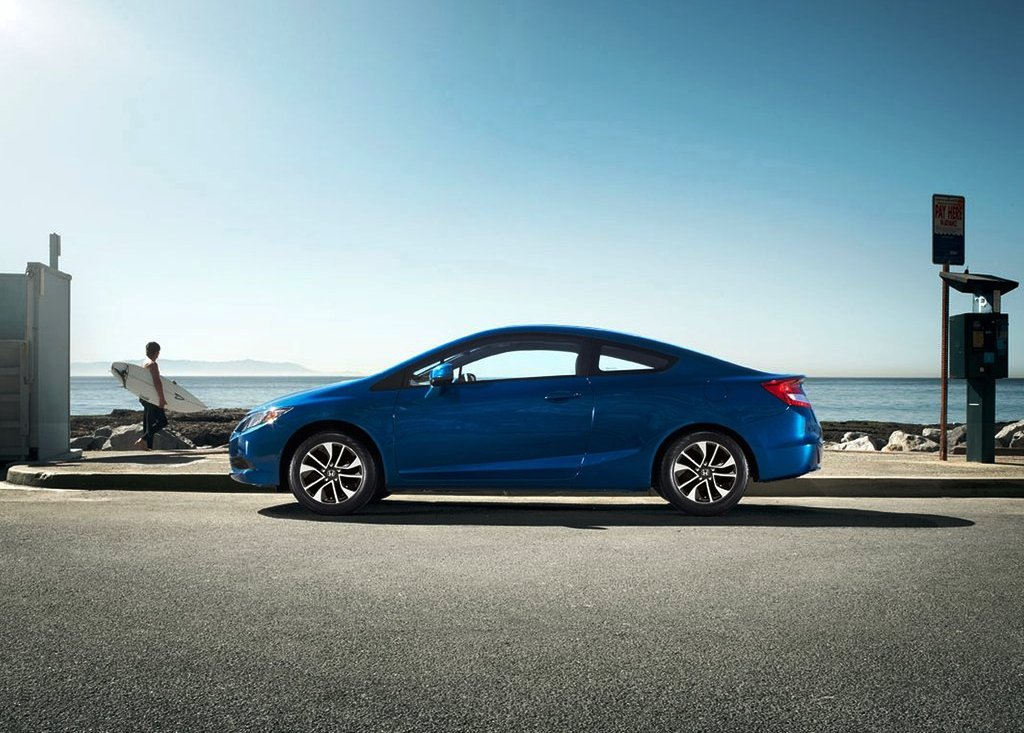 2013 Honda Civic Coupe Side View (Photo 6 of 6)