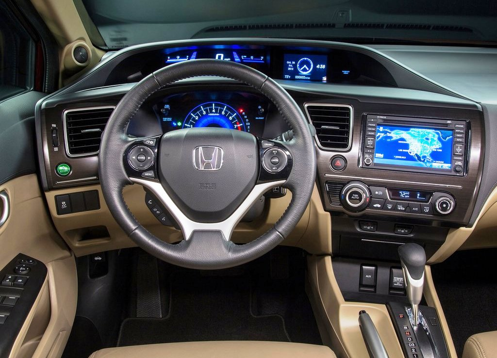 2013 Honda Civic Sedan Dashboard (Photo 2 of 8)