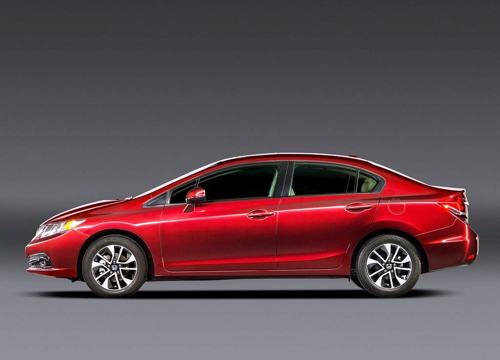 2013 Honda Civic Sedan Side View (Photo 6 of 8)