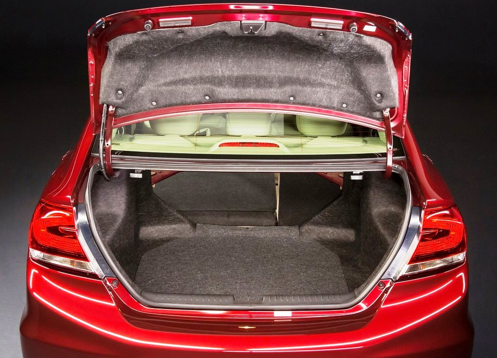 2013 Honda Civic Sedan Trunk (Photo 8 of 8)