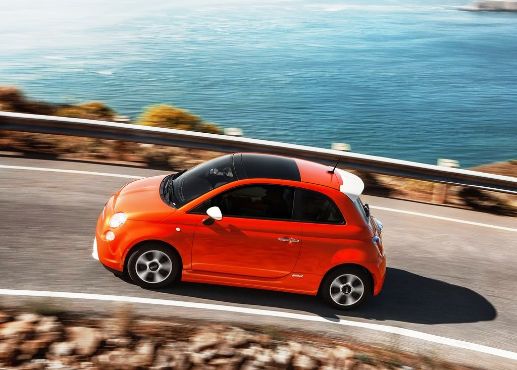 2014 Fiat 500e Side View (View 4 of 5)