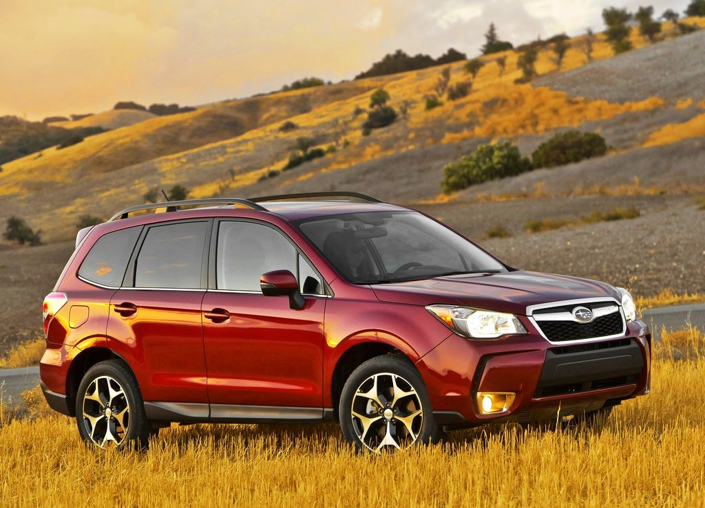 2014 Subaru Forester Front Angle (View 2 of 6)