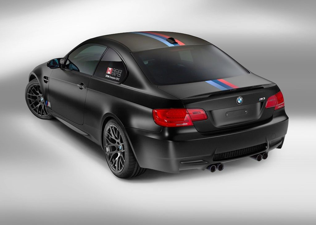 2012 BMW M3 DTM Champion Edition Rear Angle (View 4 of 6)