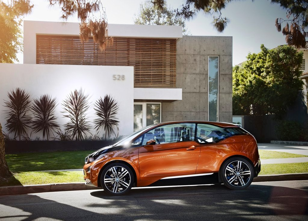 2012 BMW I3 Coupe Side View (Photo 9 of 9)