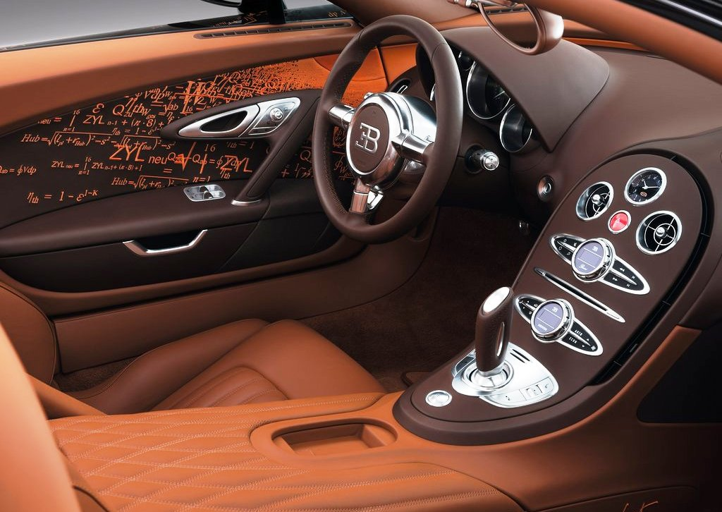2012 Bugatti Veyron Grand Sport Bernar Venet Interior (Photo 3 of 6)