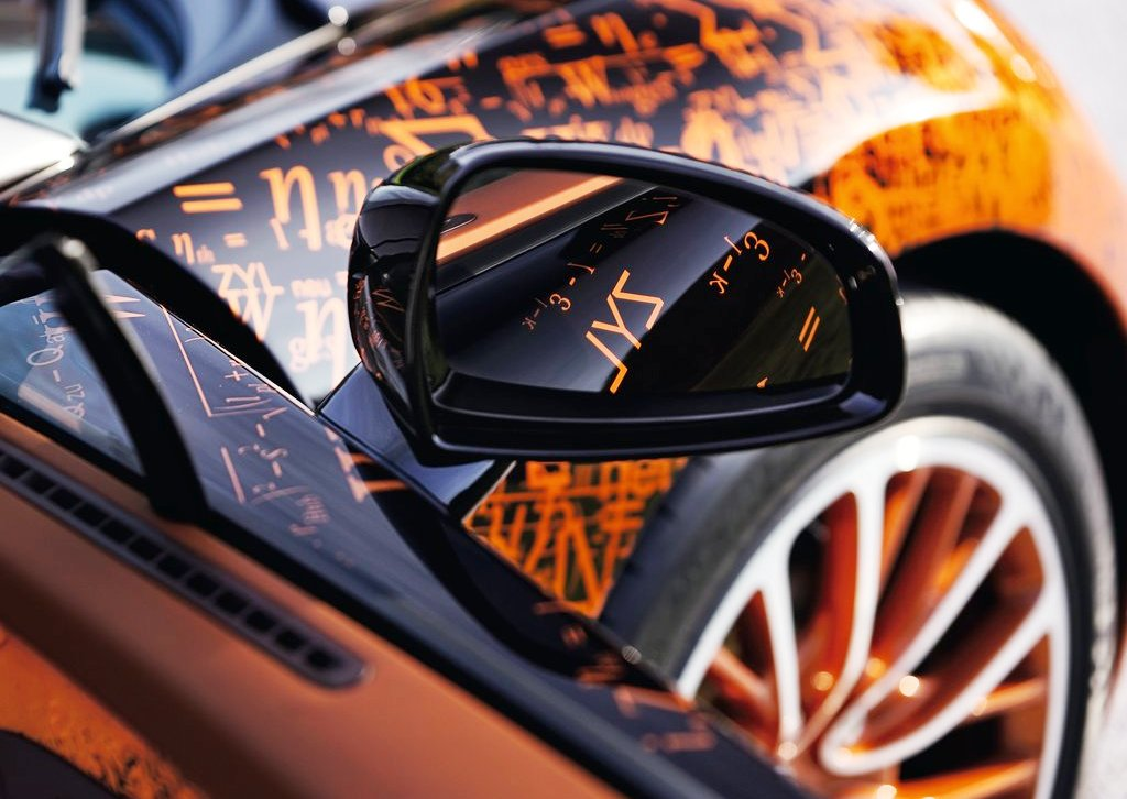 2012 Bugatti Veyron Grand Sport Bernar Venet Mirror (Photo 4 of 6)
