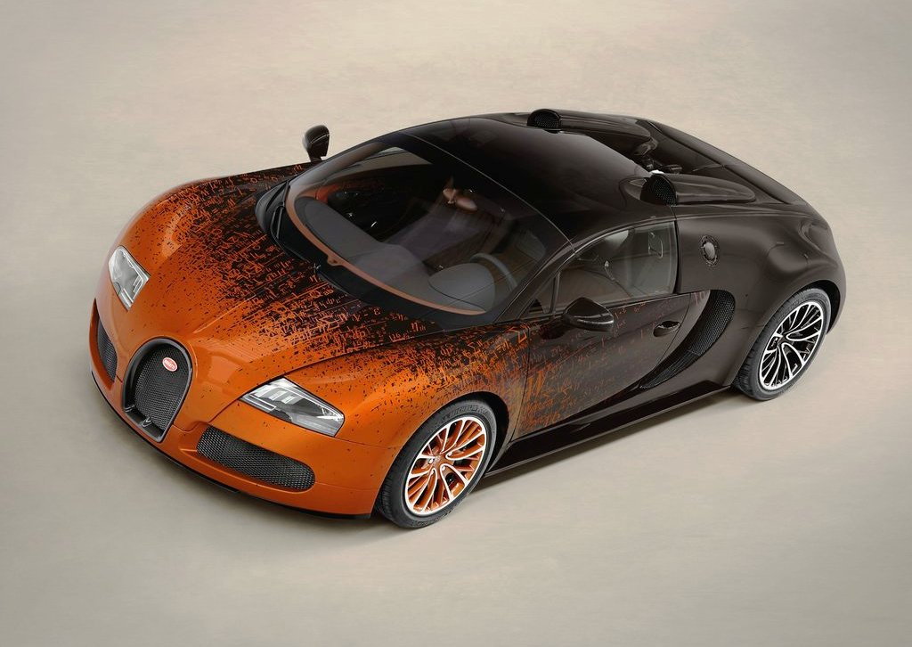2012 Bugatti Veyron Grand Sport Bernar Venet View (Photo 6 of 6)