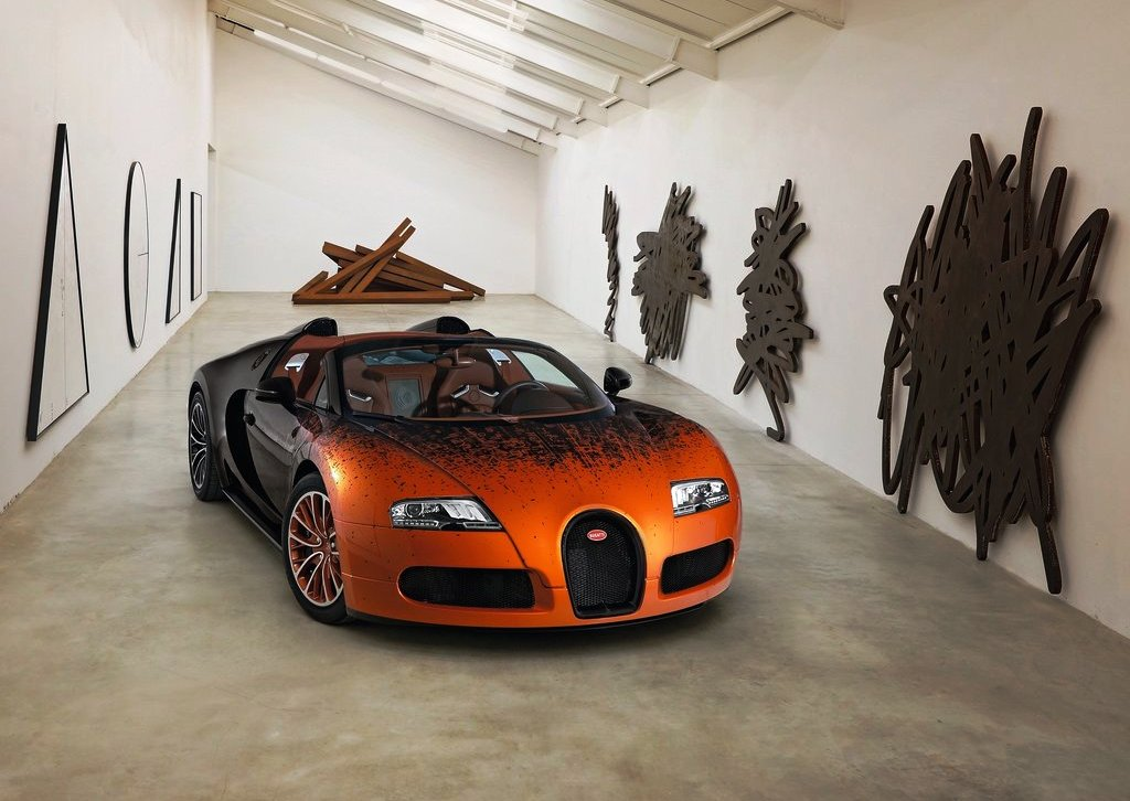 Featured Image of 2012 Bugatti Veyron Grand Sport Bernar Venet