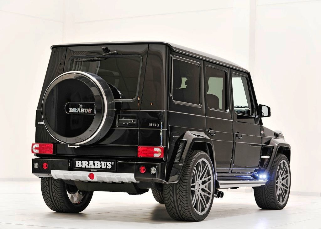 2013 Brabus B63 620 Widestar Rear Angle (View 4 of 8)