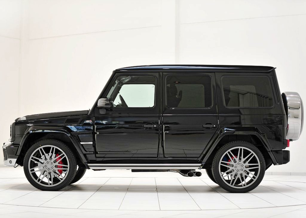 2013 Brabus B63 620 Widestar Side (View 6 of 8)