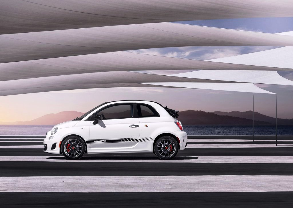 2013 Fiat 500C Abarth Side View (Photo 6 of 6)