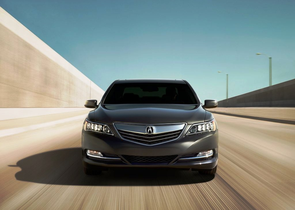 2014 Acura RLX Front View (Photo 4 of 8)