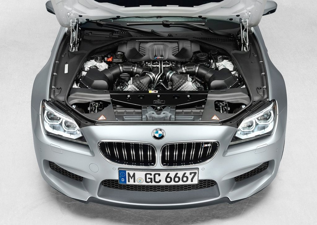 2014 BMW M6 Gran Coupe Engine (Photo 2 of 9)