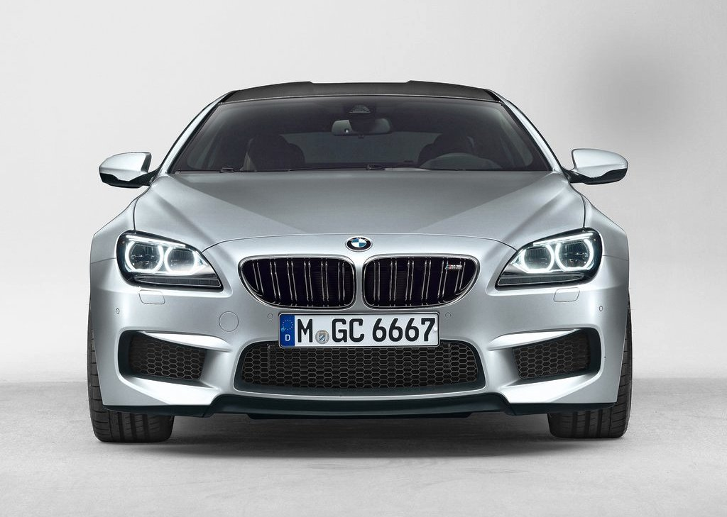2014 BMW M6 Gran Coupe Front View (Photo 3 of 9)