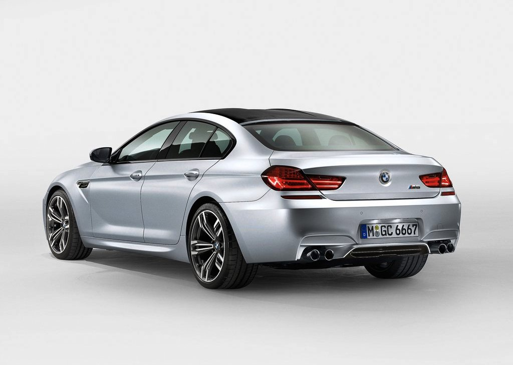 2014 BMW M6 Gran Coupe Rear Angle (Photo 6 of 9)