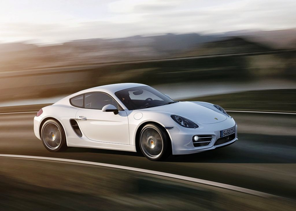 2014 Porsche Cayman Silver (Photo 6 of 6)