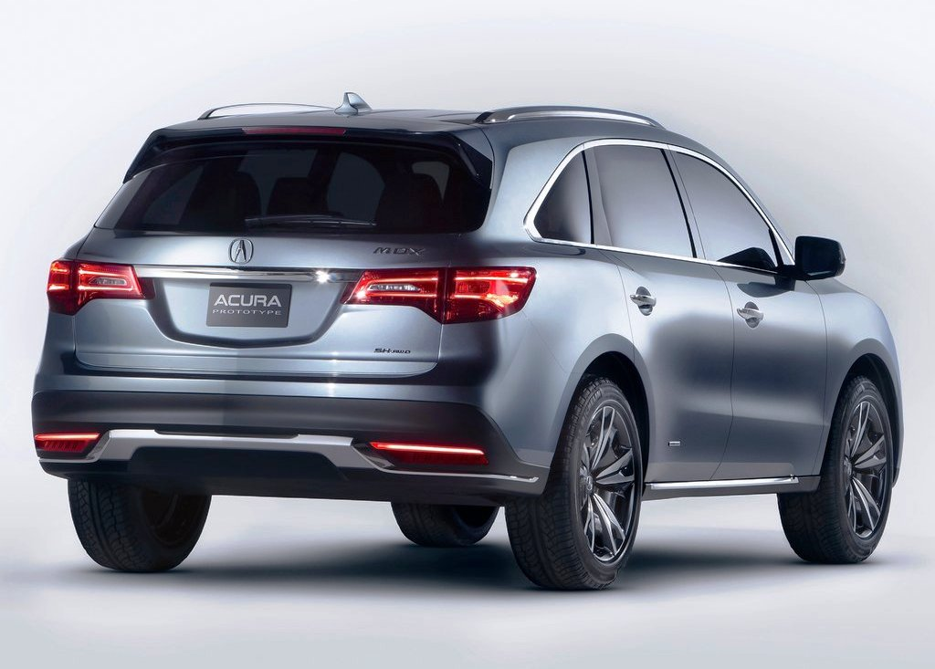 2013 Acura Mdx Rear Angle (View 2 of 6)