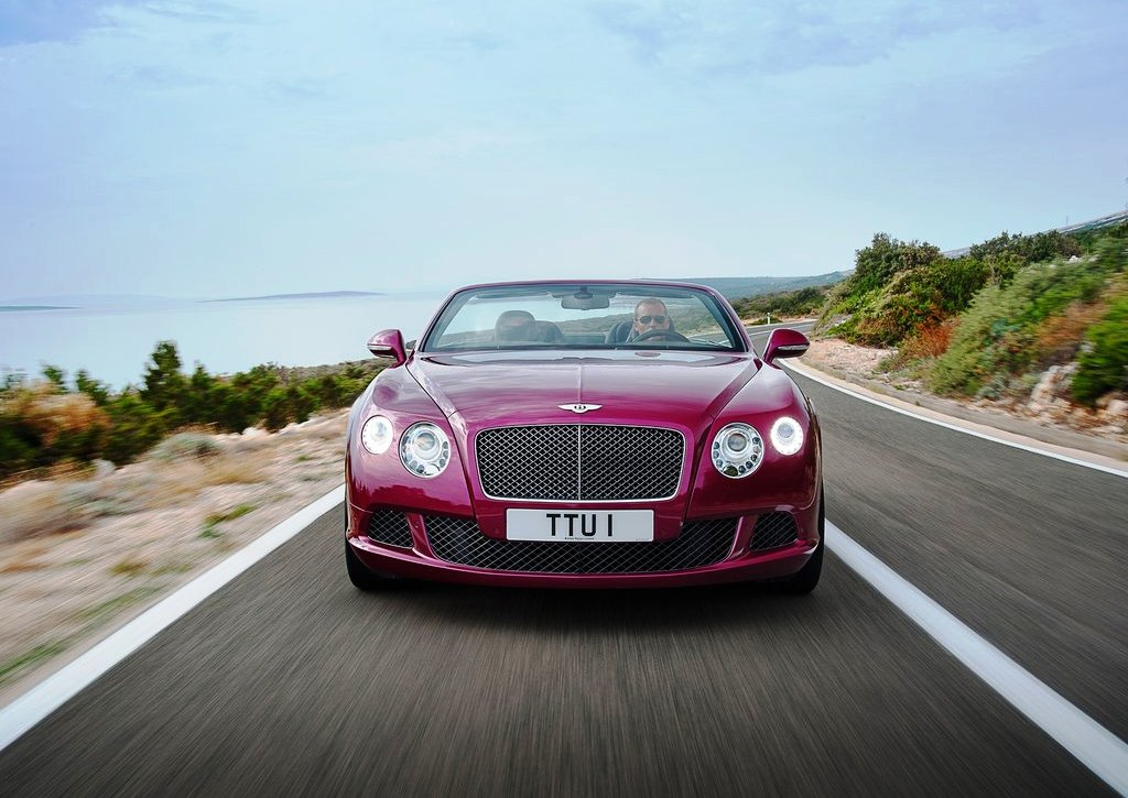 2014 Bentley Continental GT Speed Front View (Photo 2 of 6)