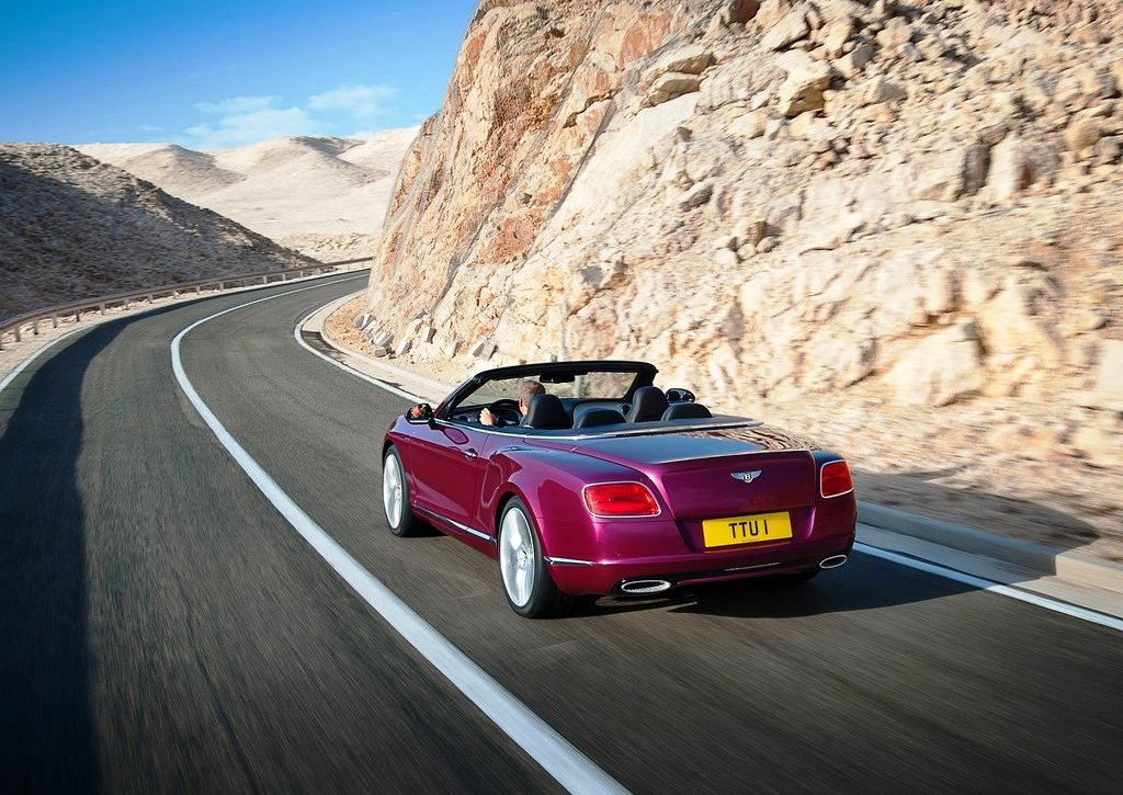 2014 Bentley Continental GT Speed Rear Angle (Photo 4 of 6)