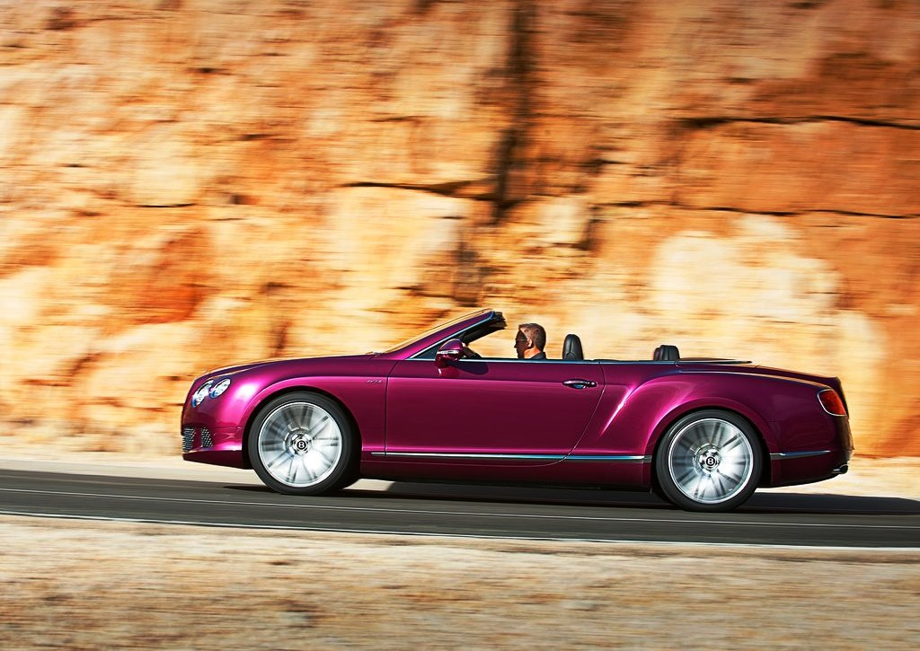 2014 Bentley Continental GT Speed Side View (Photo 5 of 6)