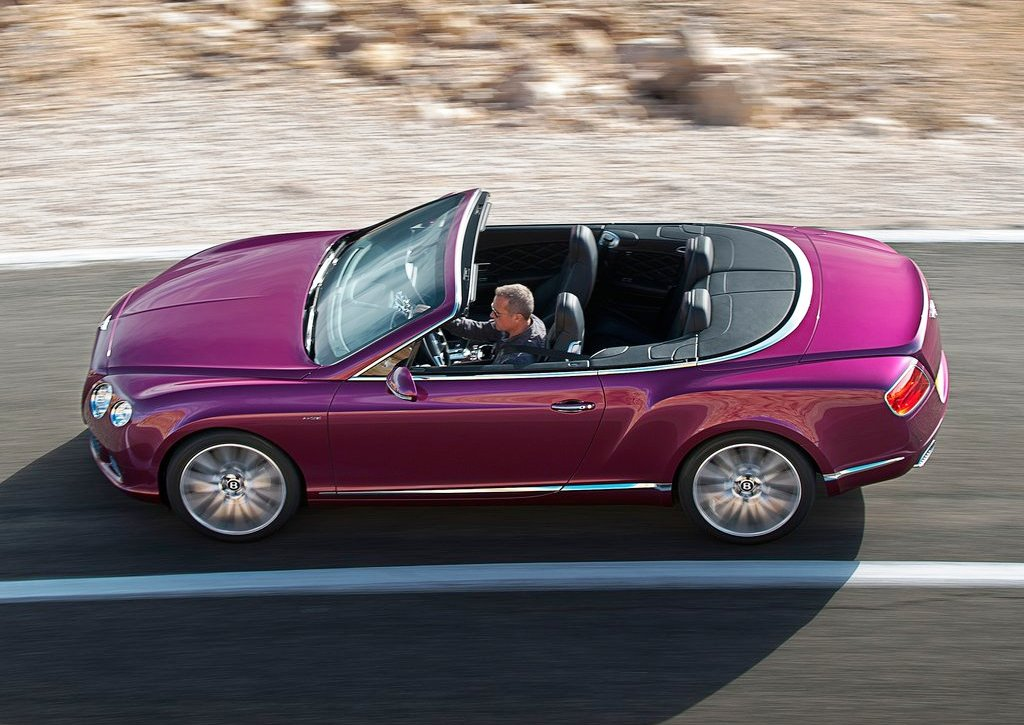 2014 Bentley Continental GT Speed Top View (Photo 6 of 6)