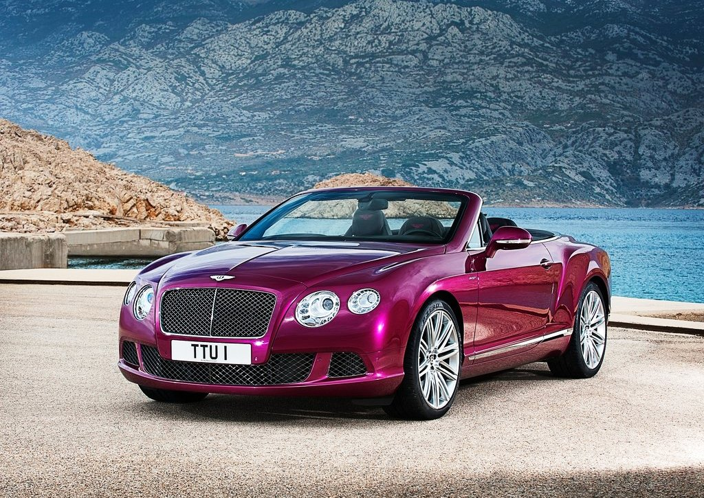 2014 Bentley Continental GT Speed Convertible Pictures Gallery (6 Images)