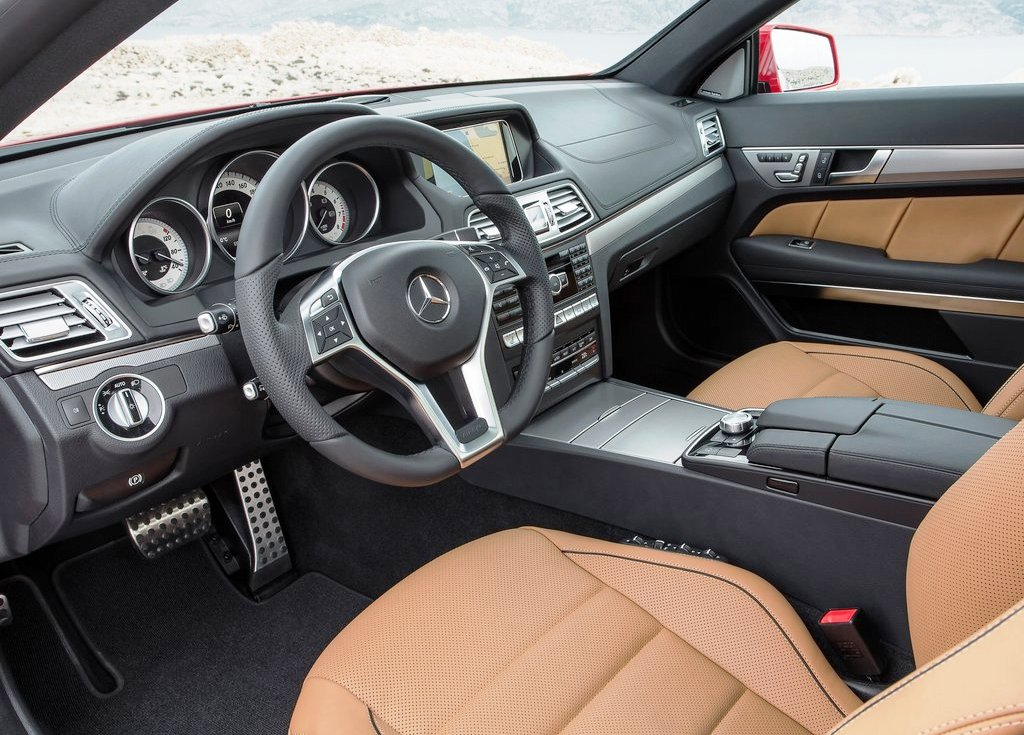 2014 Mercedes Benz E Class Coupe Interior (Photo 3 of 7)