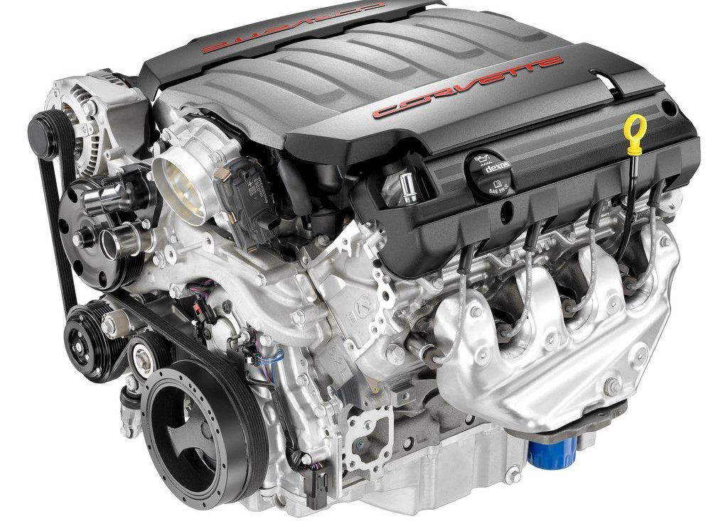 2014 Chevrolet Corvette Stingray C7 Engine (Photo 3 of 9)