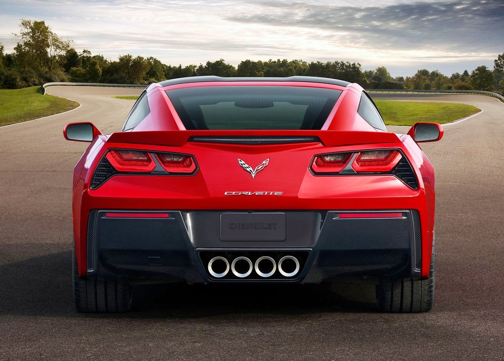 2014 Chevrolet Corvette Stingray C7 Rear (Photo 7 of 9)