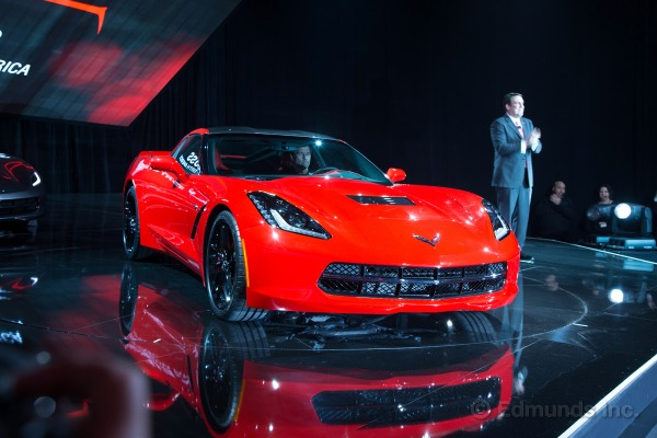 2014 Corvette C7 Price At Detroit Auto Show (Photo 3 of 3)