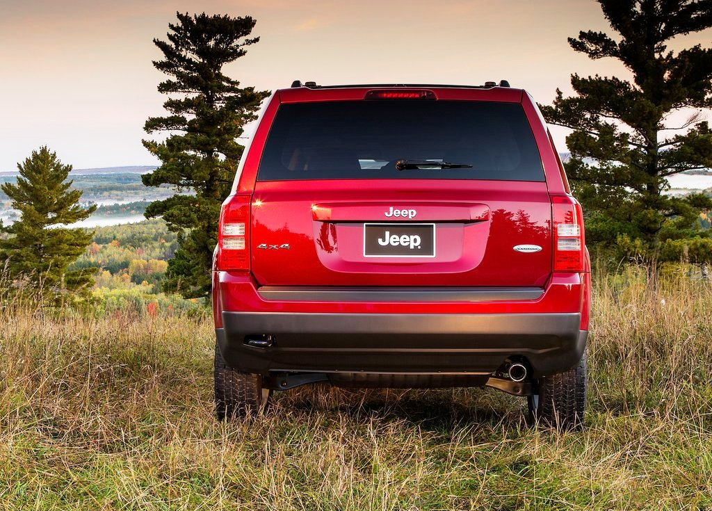 2014 Jeep Patriot Rear (View 3 of 6)