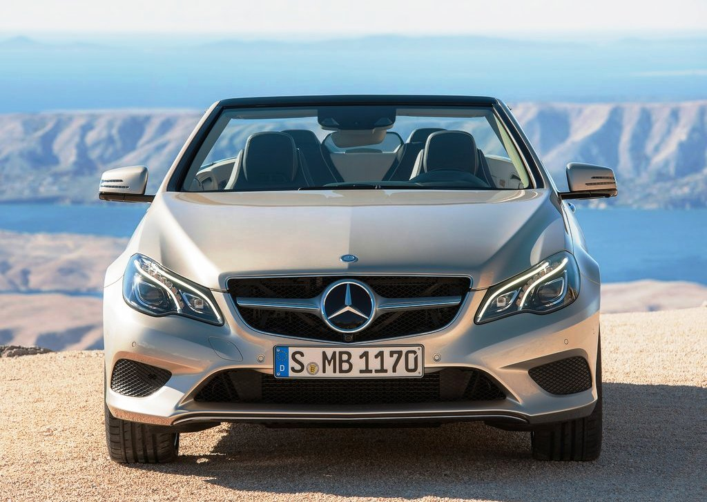 2014 Mercedes Benz E Class Cabriolet Front (Photo 2 of 8)