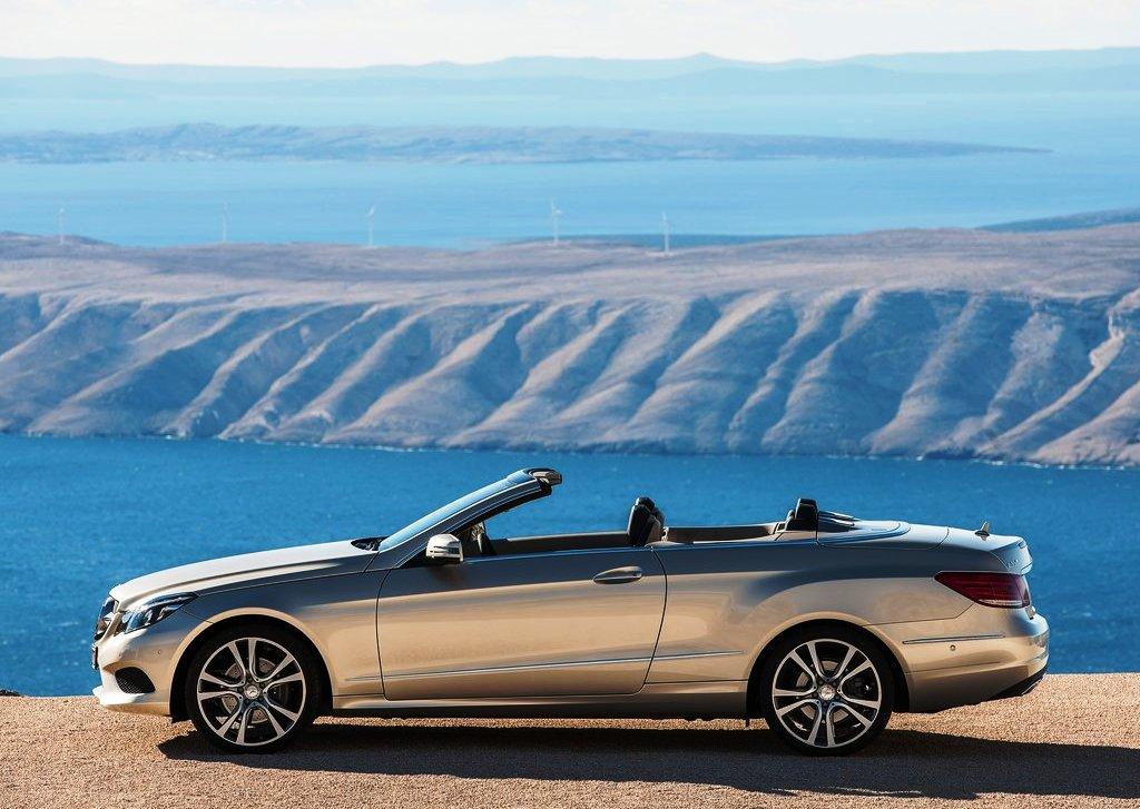 2014 Mercedes Benz E Class Cabriolet Side View (Photo 6 of 8)