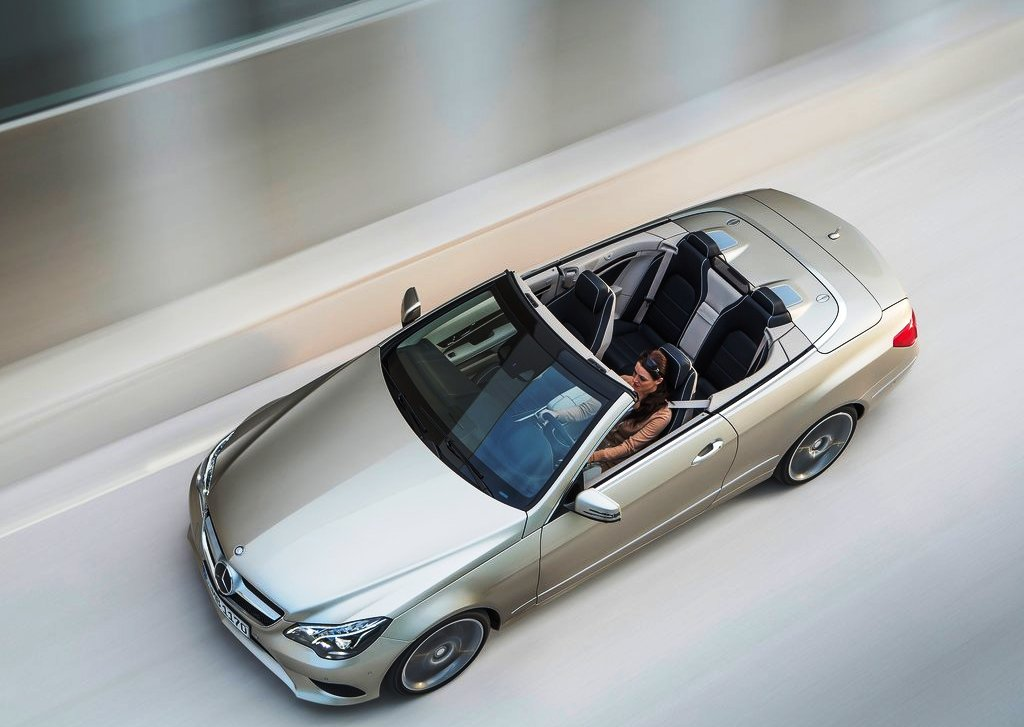 2014 Mercedes Benz E Class Cabriolet Top View (Photo 7 of 8)